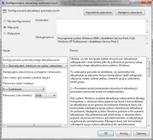 Windows Update - automatyczne aktualizacje