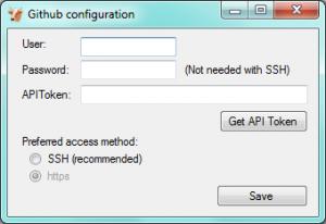 GitHub configuration