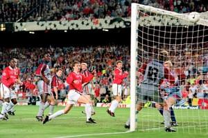 Ole Gunnar Solskjaer 1999 zwycieski gol