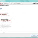 Eclipse: dostosuj przestrzeń roboczą (toolbar)