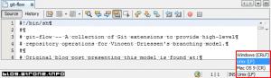 NetBeans: zmień znaki końca linii