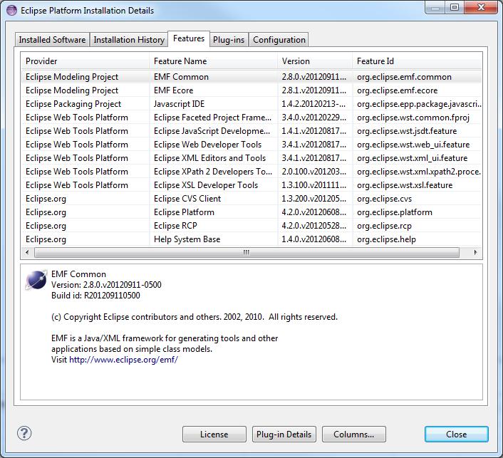 Eclipse Javascript Editor - #GolfClub